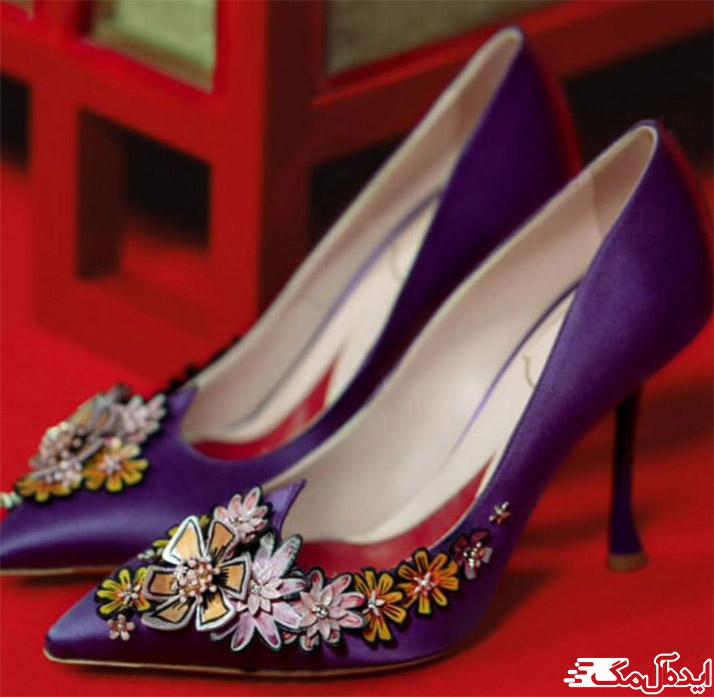 مدل کفش گل دار جدید 2021