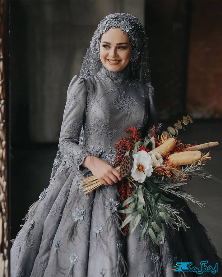 استایل لباس عروس