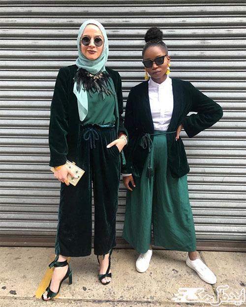 استایل الگانت با حجاب