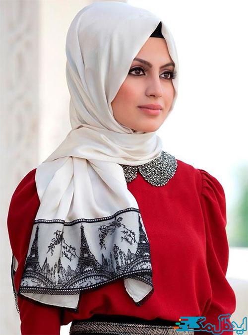 تیپ با حجاب دخترانه