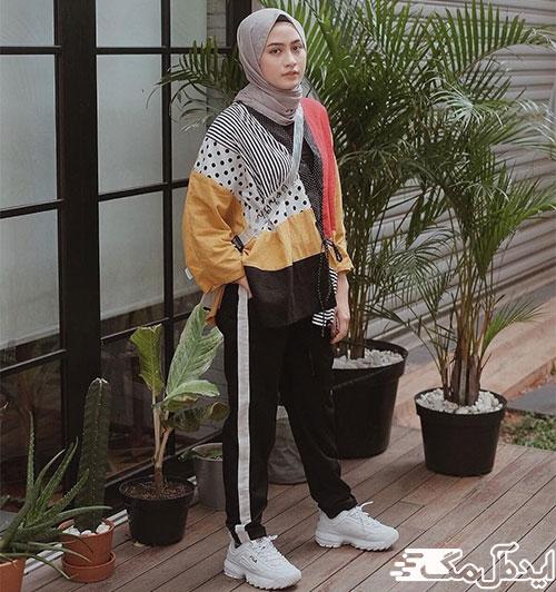 استایل ورزشی برای دختر ایرانی