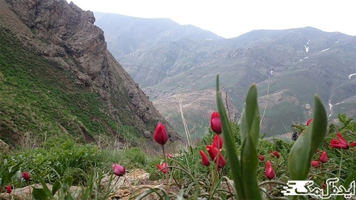 روستاهای بکر اطراف تهران