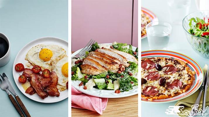 برنامه غذایی برای لاغری سریع