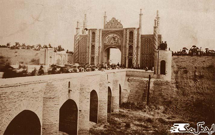 عکس قدیمی از تهران