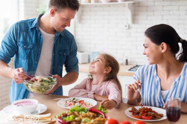 رژیم غذایی ساده برای لاغری