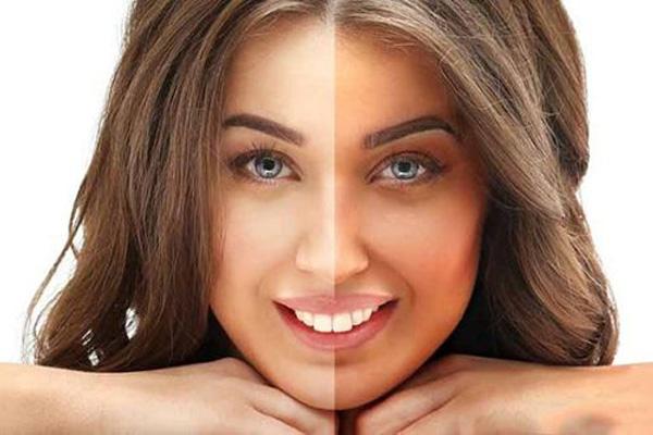 روش های برنزه کردن پوست صورت و بدن